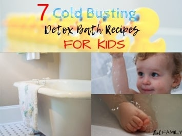 7 Cold Busting Detox Bath Recipes for Kids
