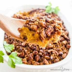 Pecan roasted butternut squash thanksgiving recipe