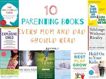 10 Parenting Books Every Mom & Dad Should Read
