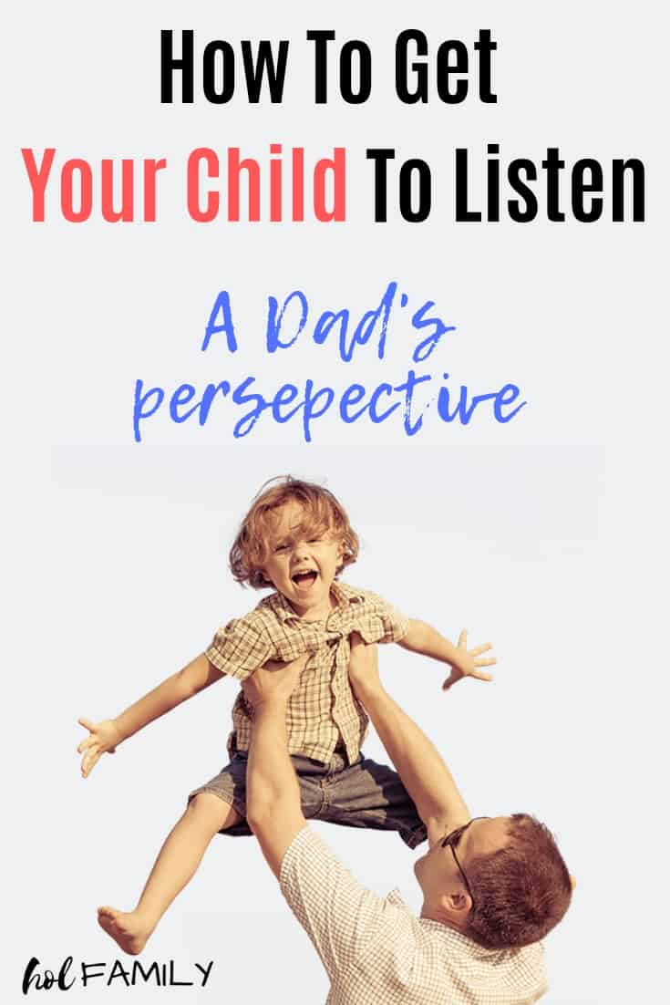 It's frustrating trying to get your child to listen to you. Fortunately there are some positive parenting methods that can help. When we are on purpose and conscious of our parenting and how it impacts our children, magical things can happen, including your children listening to you! Click on over to see this dad's perspective… #parenting #parentingtips #parentinghacks #positiveparenting #parenting101 #holfamily