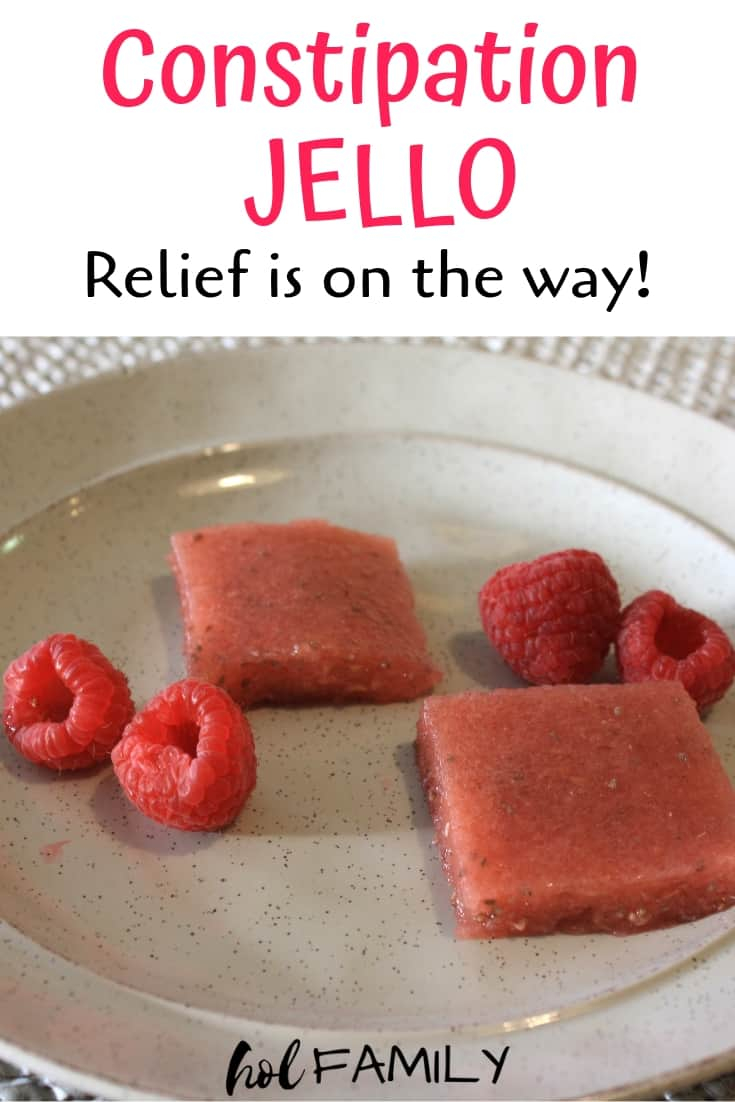 If you're looking for a yummy and kid-friendly way to relieve constipation, this constipation jello is exactly what you need! Made using natural ingredients, this recipe is great for babies, children, or adults looking for fast relief from constipation.#constipation #naturalremedies #constipationremedies #kidfriendly