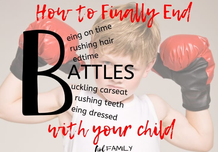 How to Finally End Battles With Your Child