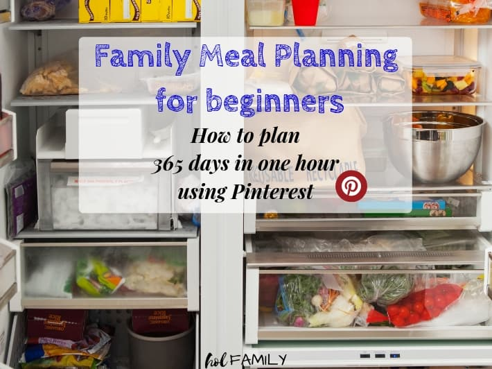 Family Meal Planning For Beginners