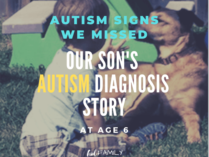 Our son's autism diagnosis story
